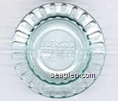 Edgewater, Hotel - Casino, Laughlin, Nevada (800) 67-RIVER  74837 - Molded imprint Glass Ashtray