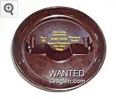 Casino, Lounge, Entertainment, Phone 218, Farris Hotel, Winnemucca, Nevada, Home of Winnemucca's Finest Floor Shows - Yellow imprint Plastic Ashtray