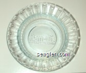 Harrah's, Casino Hotels - Molded imprint Glass Ashtray