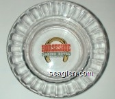 Horseshoe Casino - Hotel, Casino Center, MS - Multicolor imprint Glass Ashtray