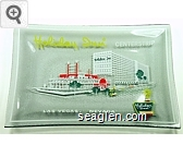 Holliday Inn Centerstrip, Las Vegas, Nevada - Multicolor imprint Glass Ashtray
