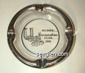 Reno's Horseshoe Club, 1969 - Silver imprint Glass Ashtray