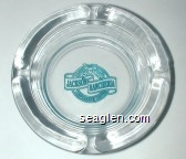 Casino Hotel, Jackson Rancheria, Conference Center - Green imprint Glass Ashtray