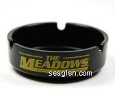 The Meadows Racetrack & Casino - Yellow imprint Plastic Ashtray