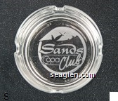 Sands, Copa Club - Etched imprint Glass Ashtray